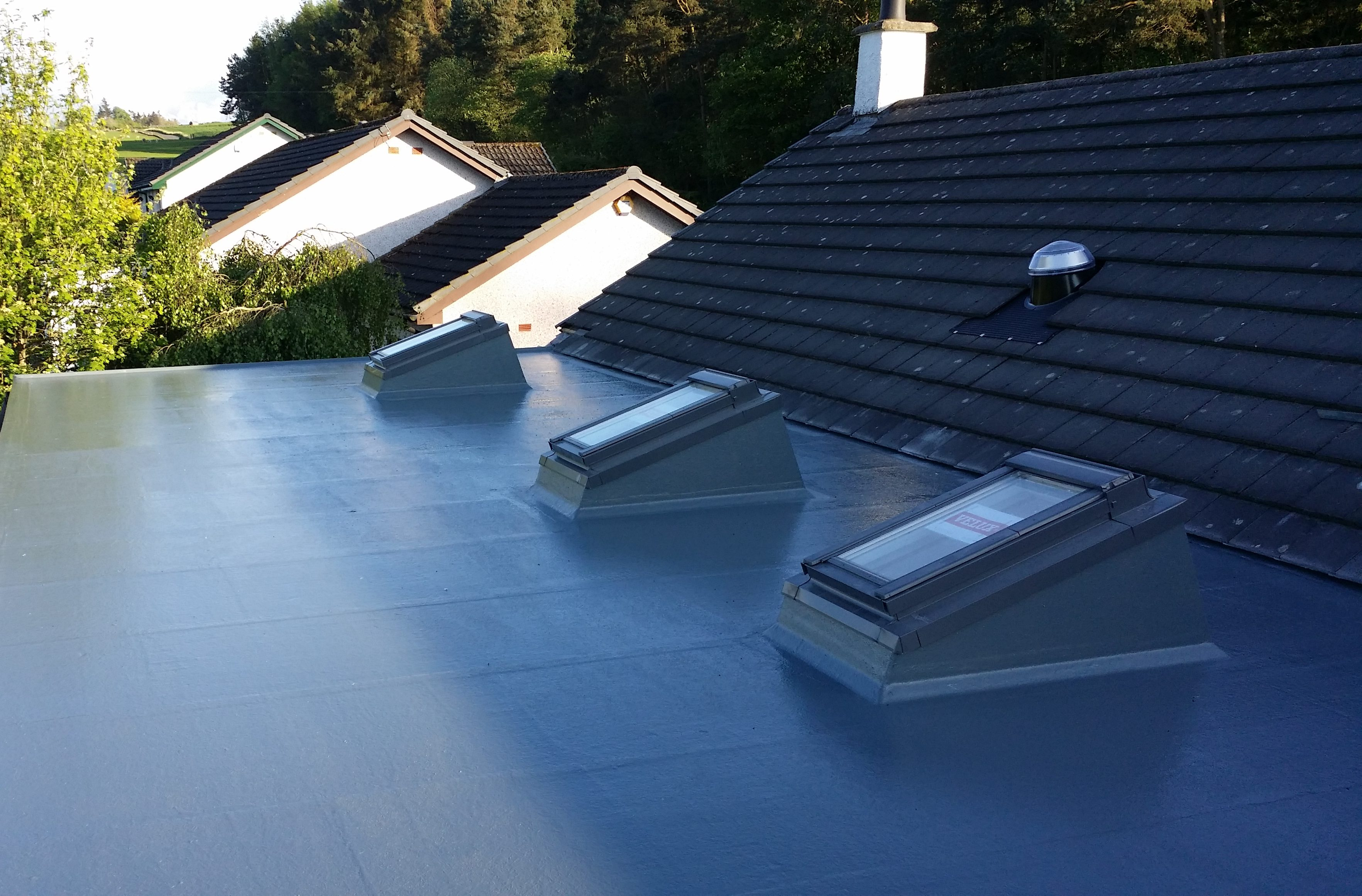 Rubberbond EPDM Roof