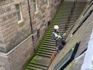 Rope Access Edinburgh roofers