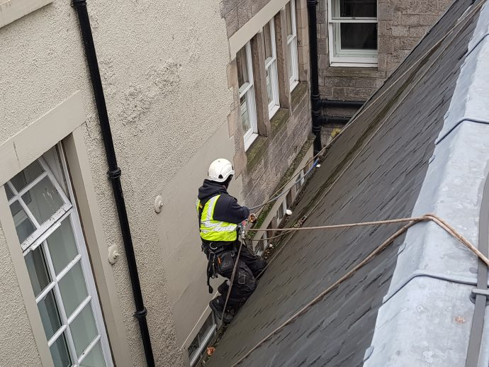 edinburgh rope access roofers