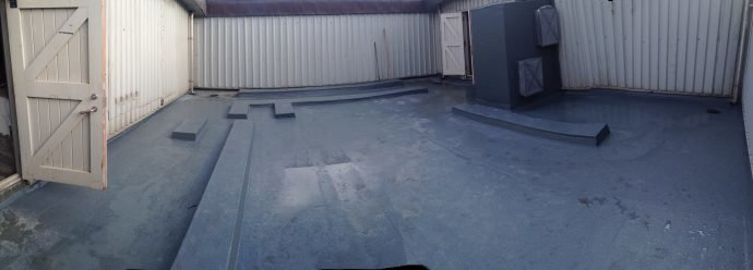commercial GRP roof Edinburgh
