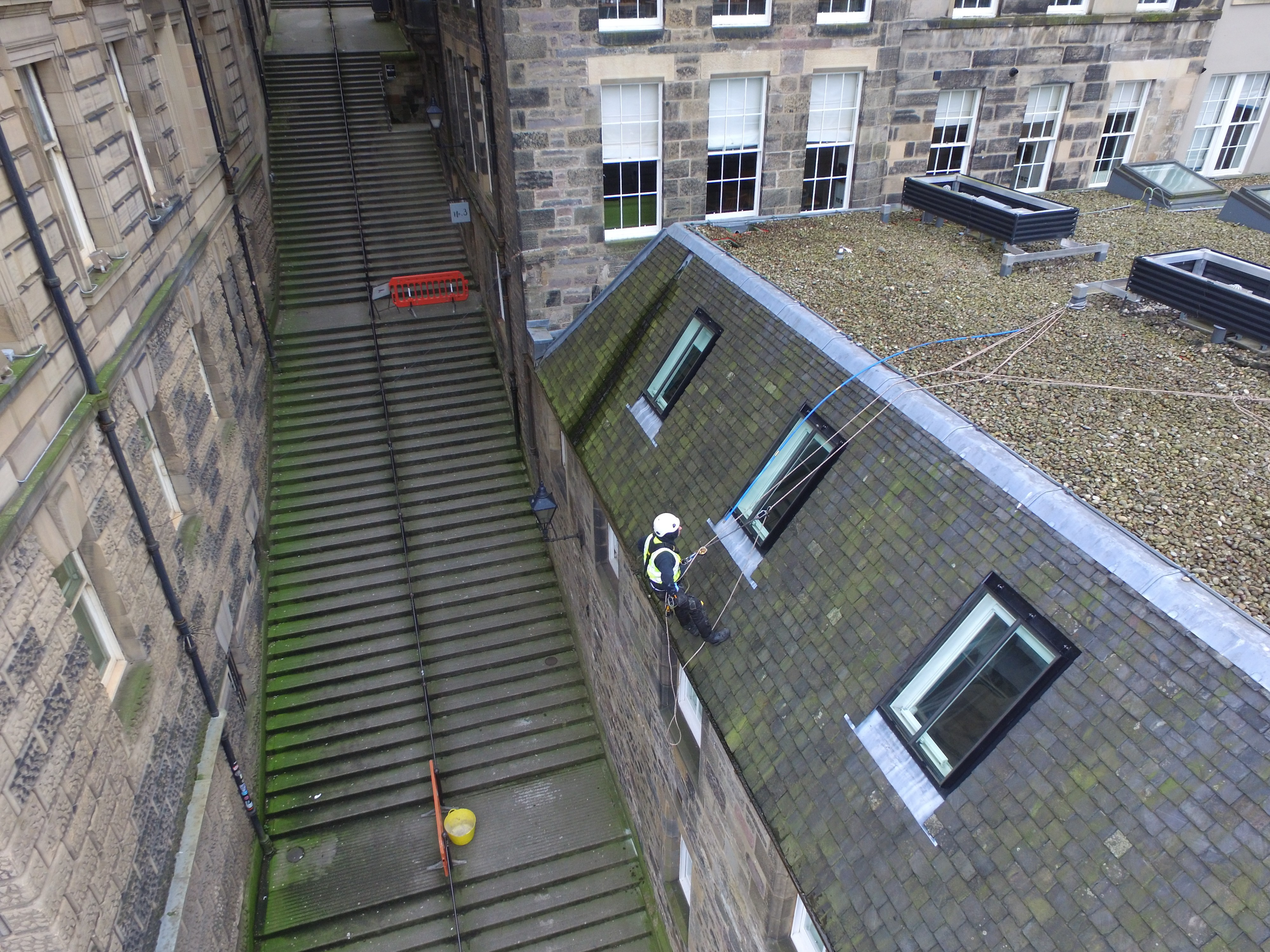 Rope Access Edinburgh Rope Access Roofers Scaffolding