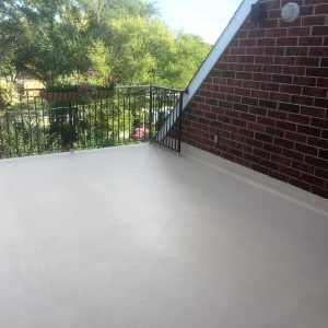 Liquid Applied coating flat roof