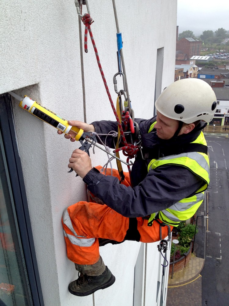 Rope Access Cleaning Gutter Cleaning Stone Cleaning