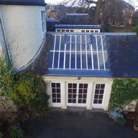 Traditional roof window repairs