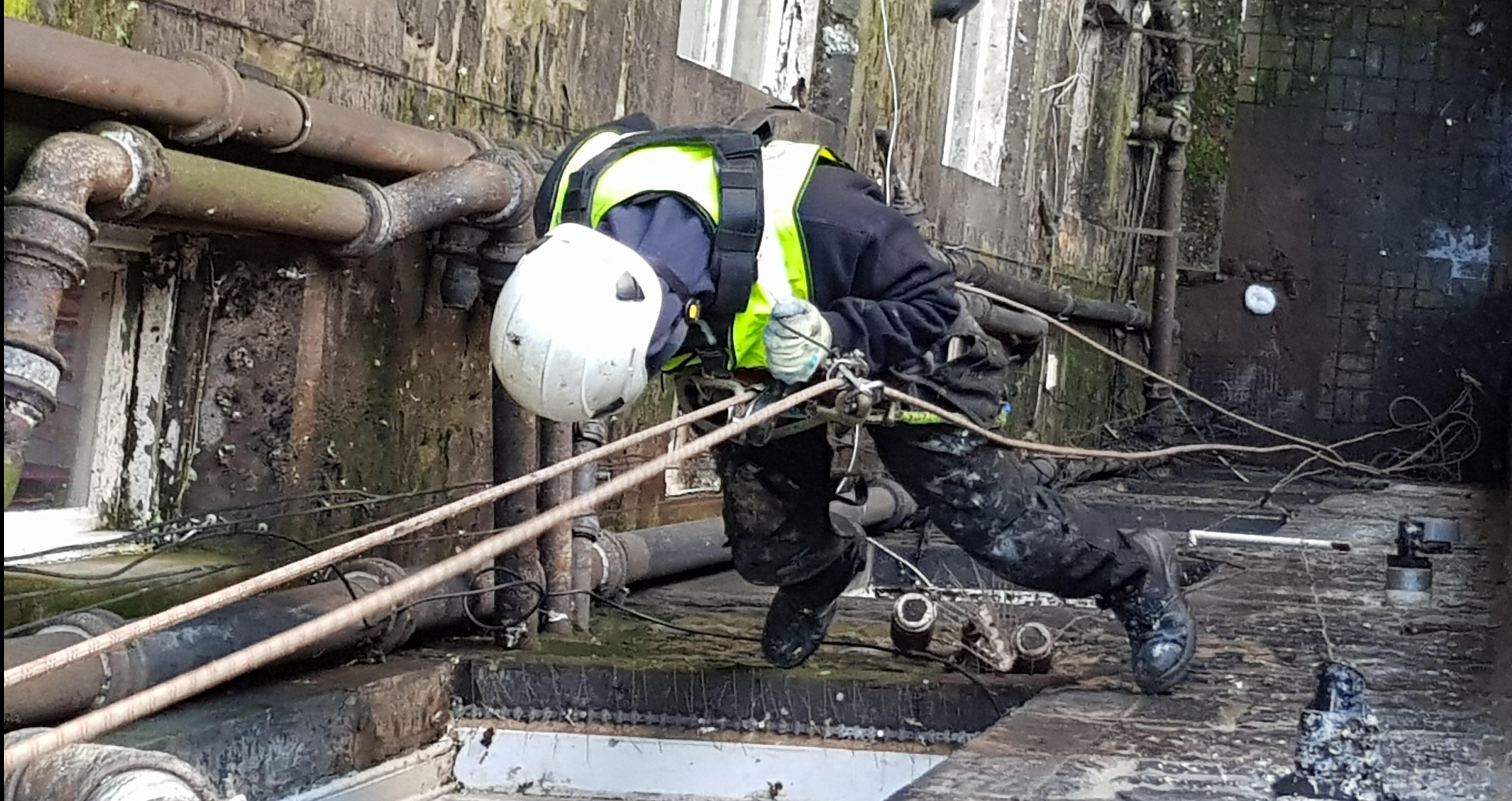 Building inspections rope access