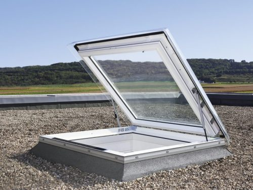 VELUX flat roof escape